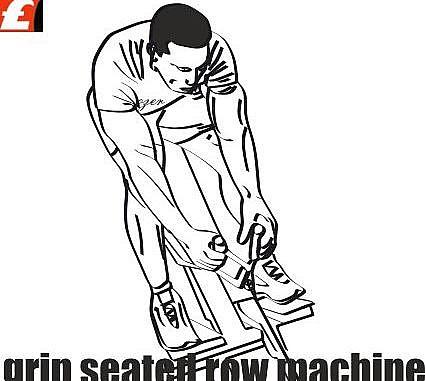 Makinede Karna Çekiş Sırt Egzersizi